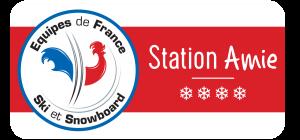 Panneau Station Amie des Equipes de France