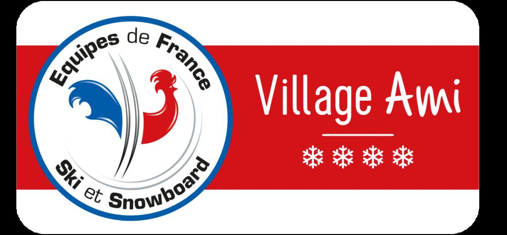 Panneau Village Ami des Equipes de France
