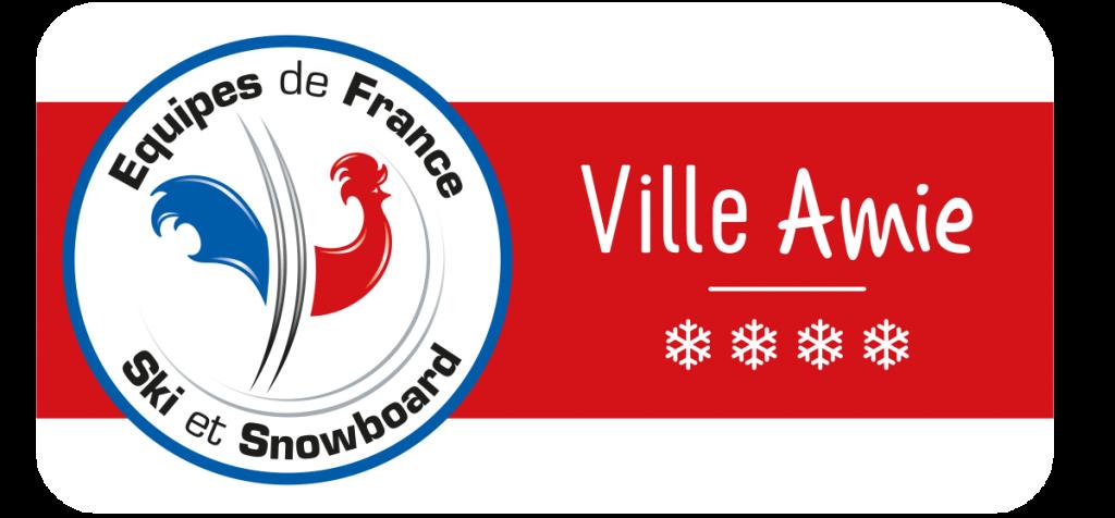 Panneau Ville Amie des Equipes de France