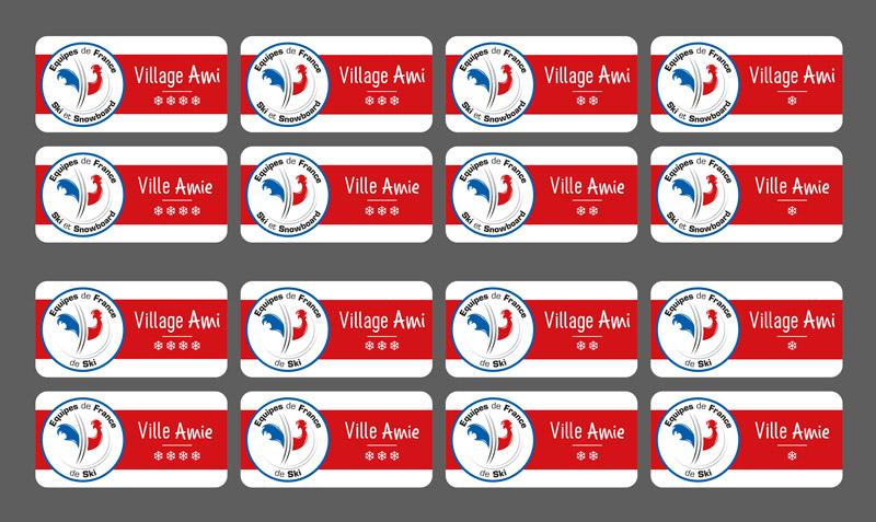 Panneaux Villes et Villages Amis des Equipes de France