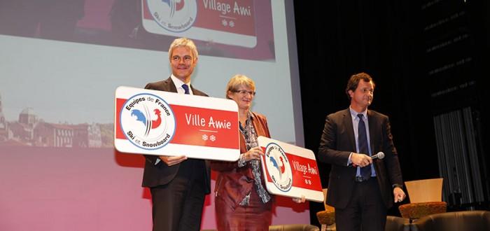 Lancement Villes Villages Amis des Equipes de France