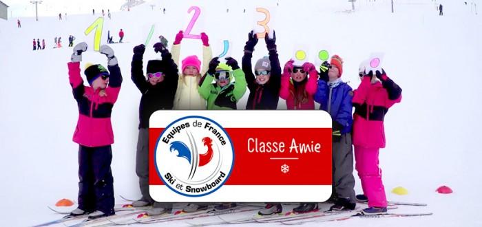 Huez - Classe Amie 1❄ des Equipes de France de Ski et de Snowboard