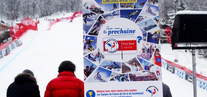Pochette | Classe amie des Equipes de France de Ski et de Snowboard